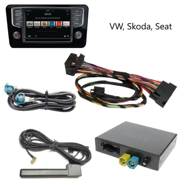 Interface Digital Radio DAB+ 4506 für VW/SKODA/SEAT MIB MQB